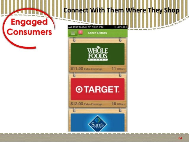 65 Engaged Consumers Connect With Them Where They Shop
