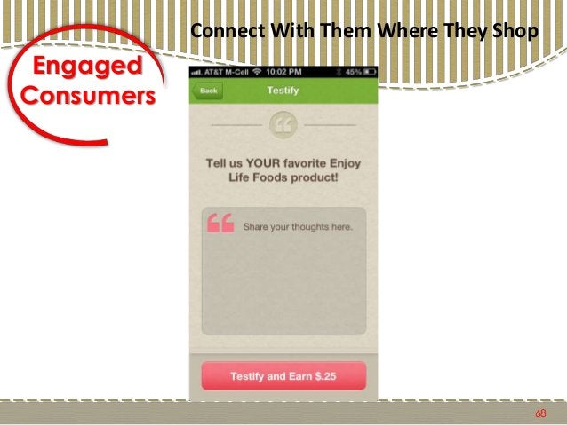 69 Engaged Consumers Connect With Them Where They Shop