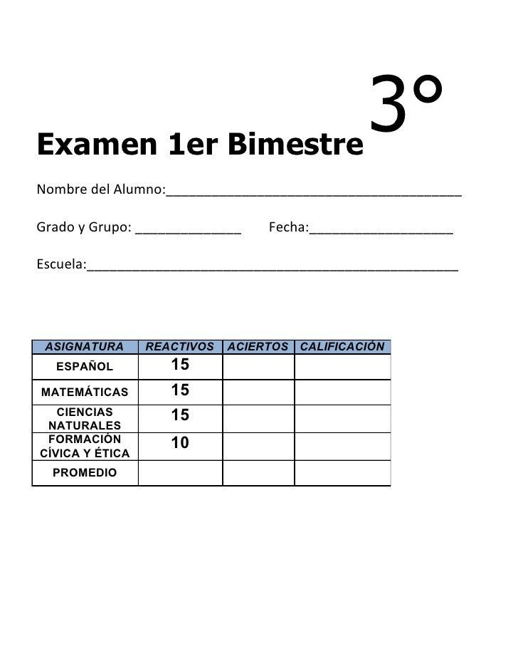 3er grado   bimestre 1(11-12)