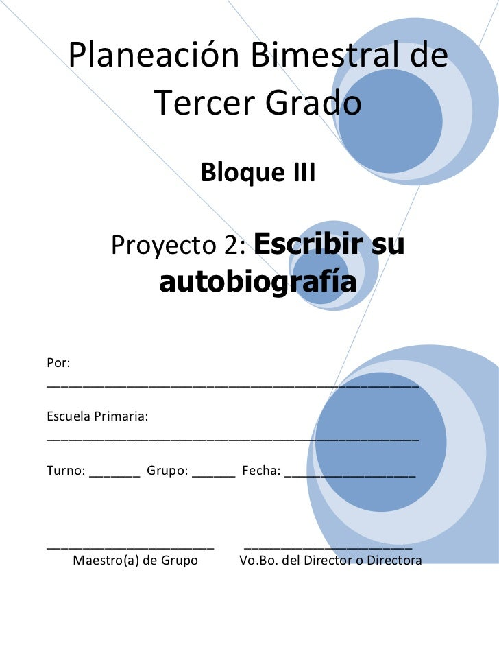 3er grado   bloque 3 - proyecto 2
