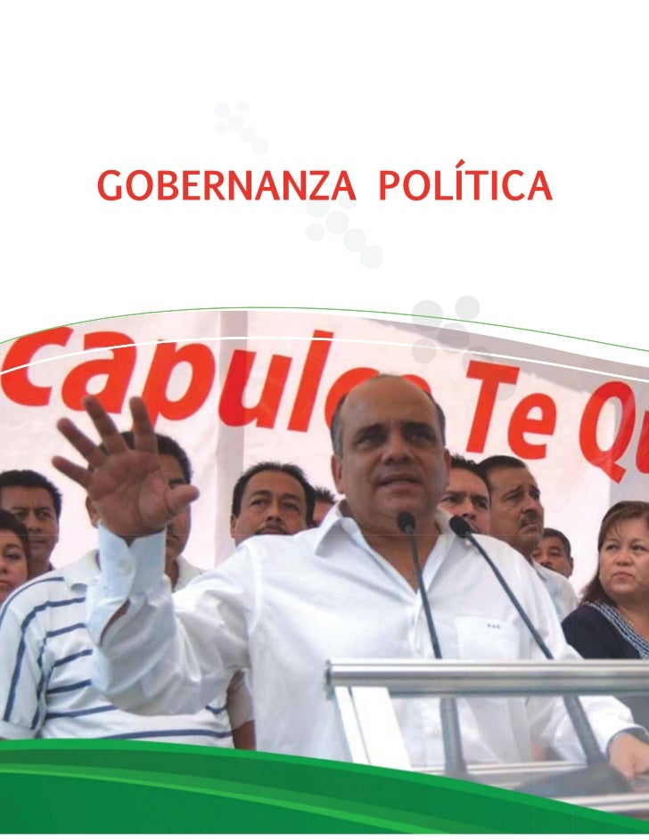 GOBERNANZA POLÍTICA