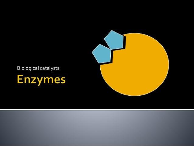 Biological catalysts