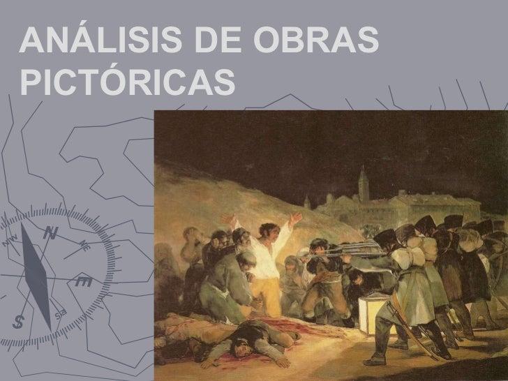 ANÁLISIS DE OBRAS PICTÓRICAS