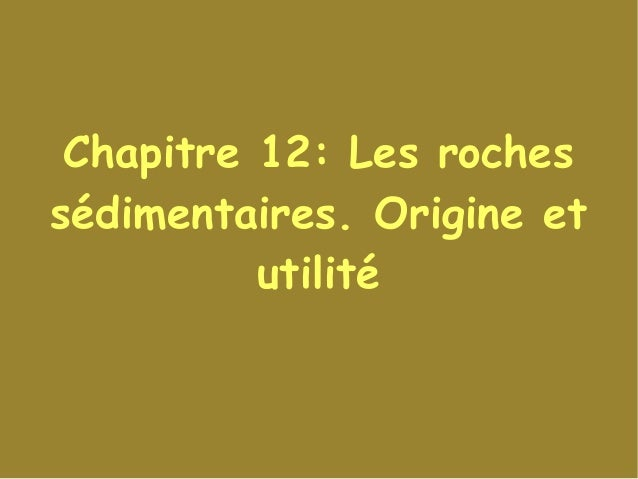 Datation des roches PPT