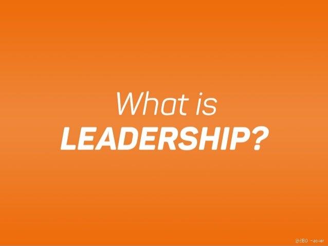 The Three E's of Leadership Slide 3