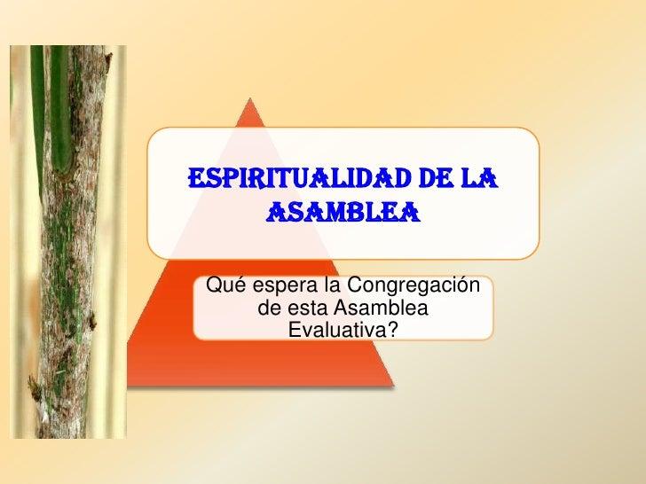 3 espiritualidad que conduce a la santidad Slide 1