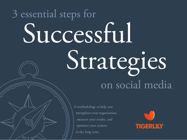 3 essential steps for Successful on social media Strategies optimize your actions A methodology to help you strengthen you...