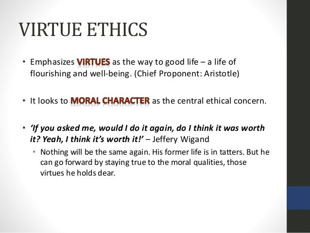 virtue ethics death penalty