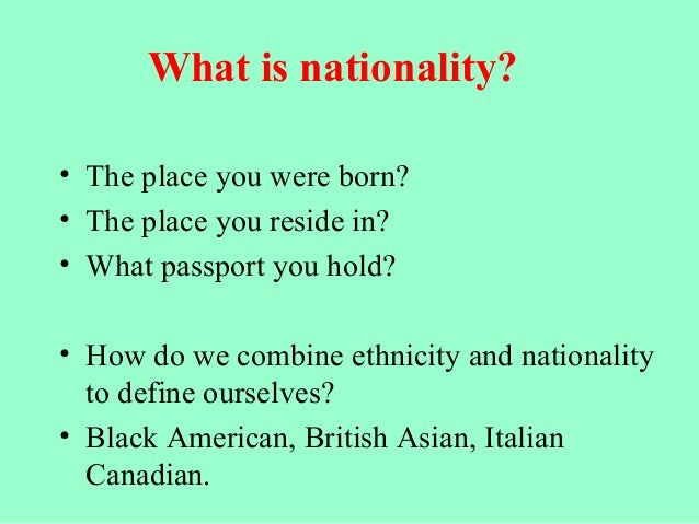 """Ethnic Notions""- Analysis"