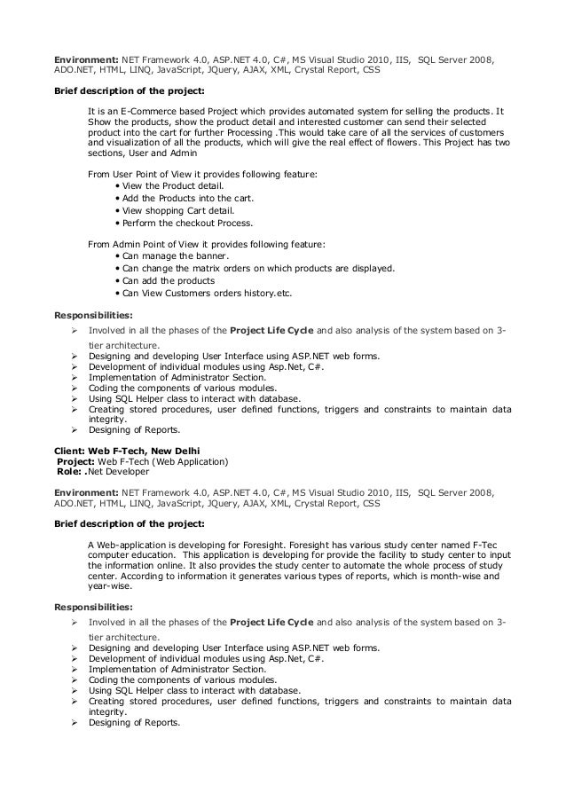 gufran cv net developer