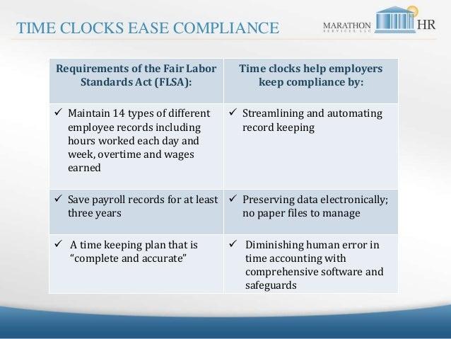 Marathon HR Time Clock SlideShare 032415 Slide 2