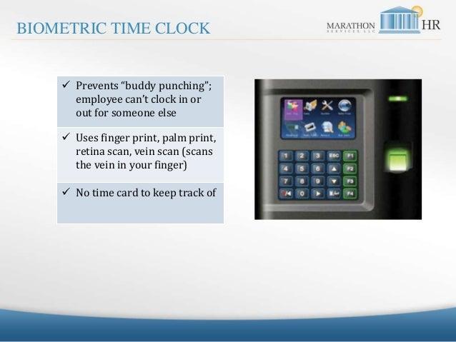Marathon HR Time Clock SlideShare 032415 Slide 3