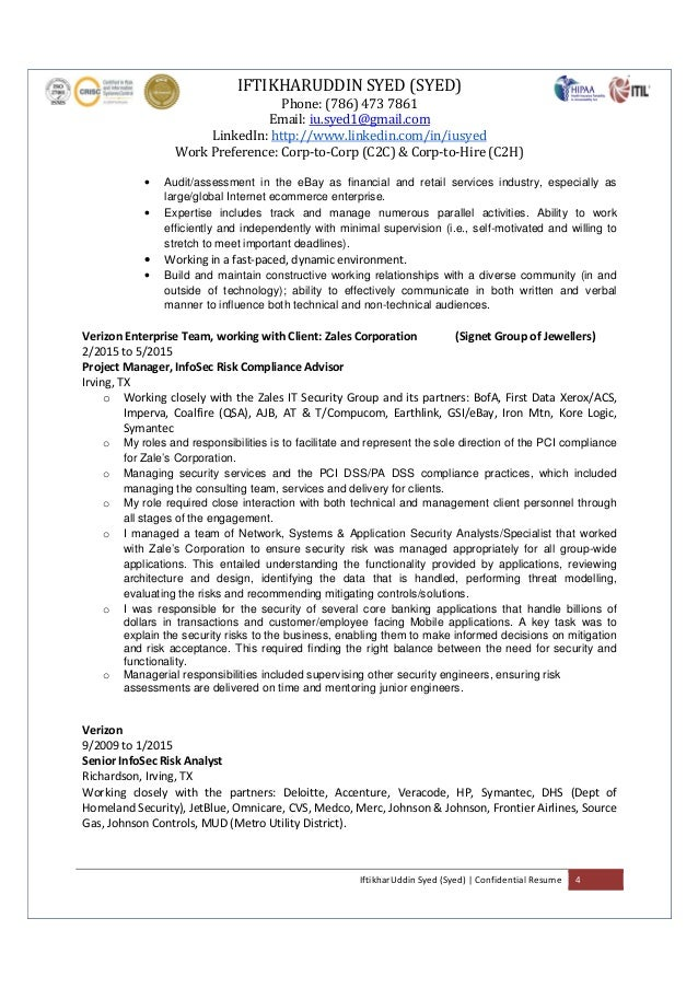 100 Information Security Auditor Resume Auditor