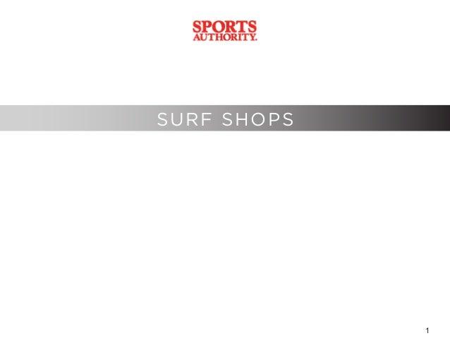 1 SURF SHOPS