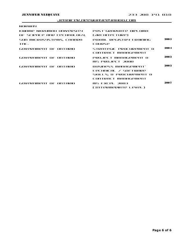 j neequaye resume  ey consultant  penultimate ver 06182015