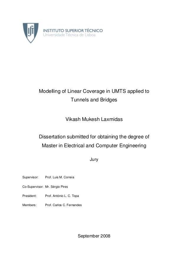 umts thesis