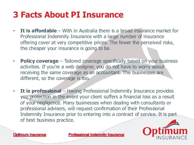 Accountant Professional Indemnity Insurance