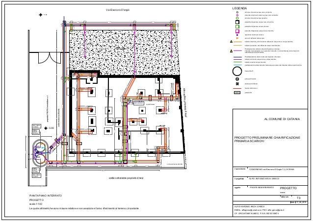 Via eleonora d 39 angio 73 progetto di adeguamento fognario for Progetto domestico