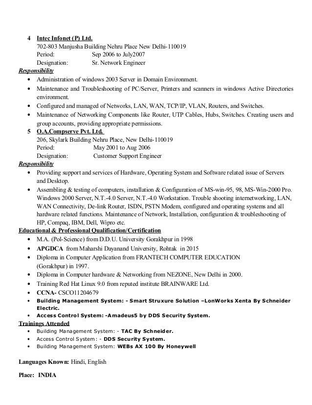Stunning Building Management System Resume Pictures - Best Resume ...