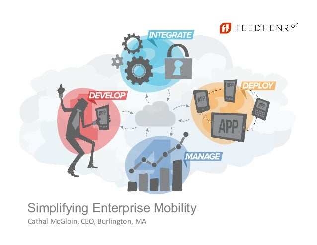Simplifying Enterprise MobilityCathal McGloin, CEO, Burlington, MA