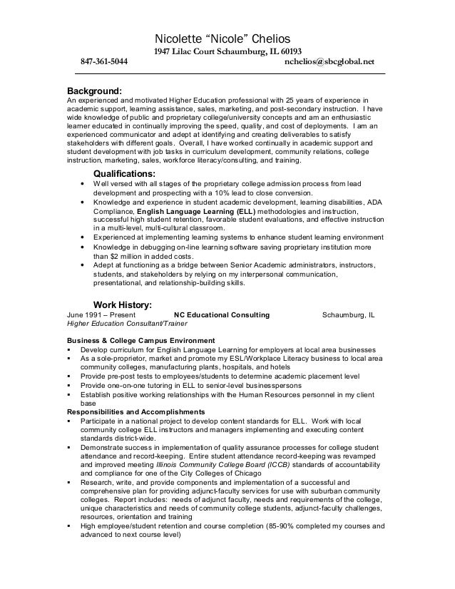 resume writer schaumburg