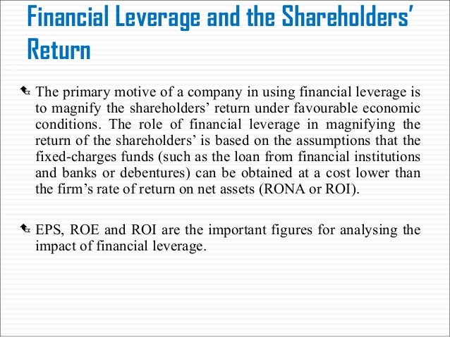 impact of financial leverage on cost Impact of financial leverage on cash flow ratio:  manufacturing sector of pakistan mitigate the agency cost of free cash flow by using leverage.