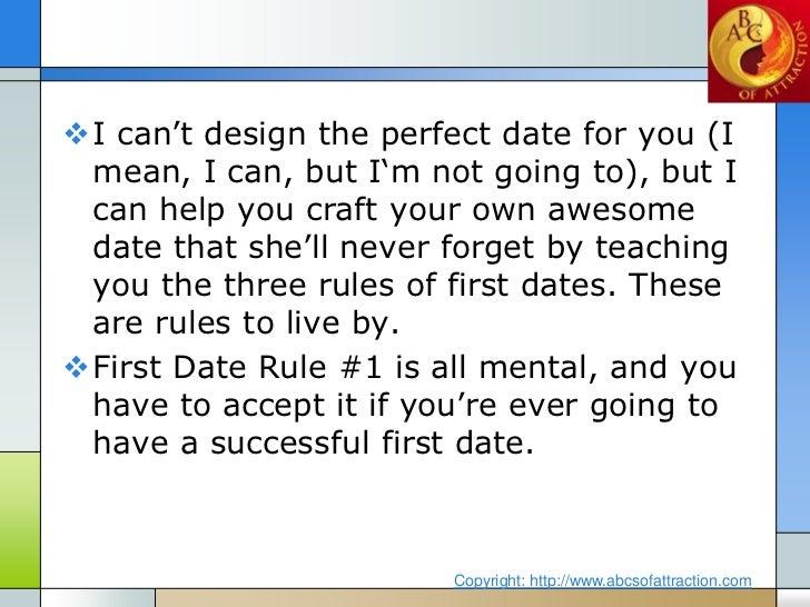 First date rules in Brisbane