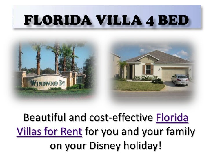 Florida Villa 4 Bed<br />Beautiful and cost-effective Florida Villas for Rent for you and your family on your Disney holid...