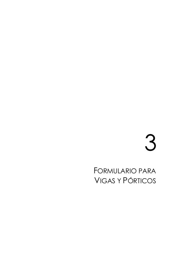 3 FORMULARIO PARA VIGAS Y PÓRTICOS