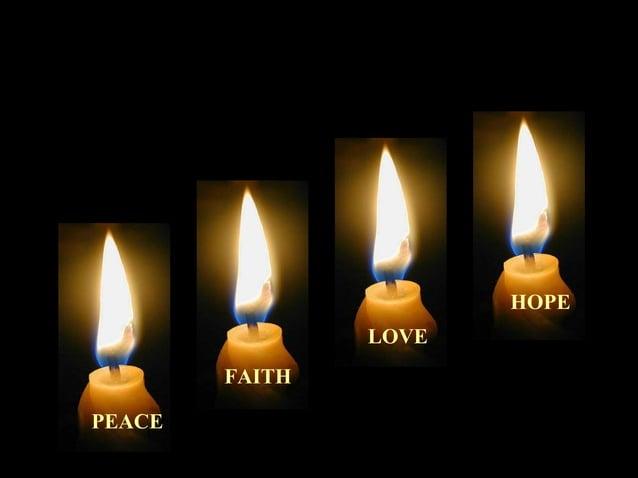 PEACE  FAITH  LOVE  HOPE