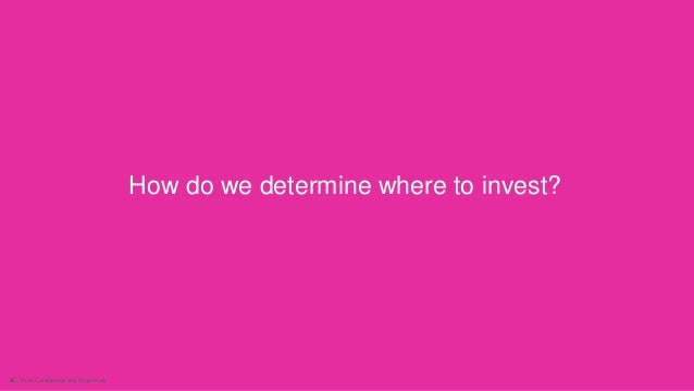 46 Intuit Confidential and Proprietary How do we determine where to invest?