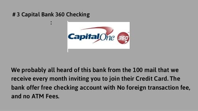 3 free checking bank accounts with no minimum balance panda