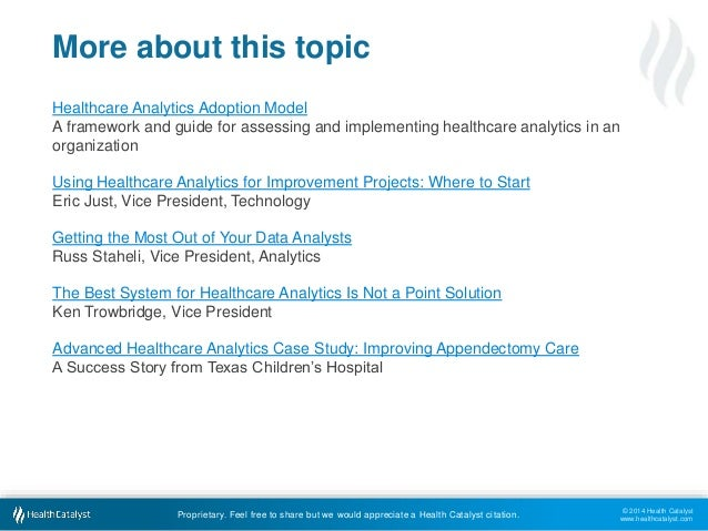 Healthcare Analytics Adoption Model  A framework and guide for assessing and implementing healthcare analytics in an  orga...