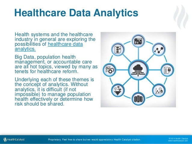 © 2014 Health Catalyst  www.healthcatalyst.com  Healthcare Data Analytics  Health systems and the healthcare  industry in ...