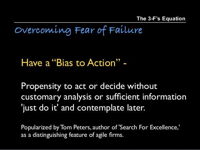 The 3 Fs Equation Failure Fear = Freedom