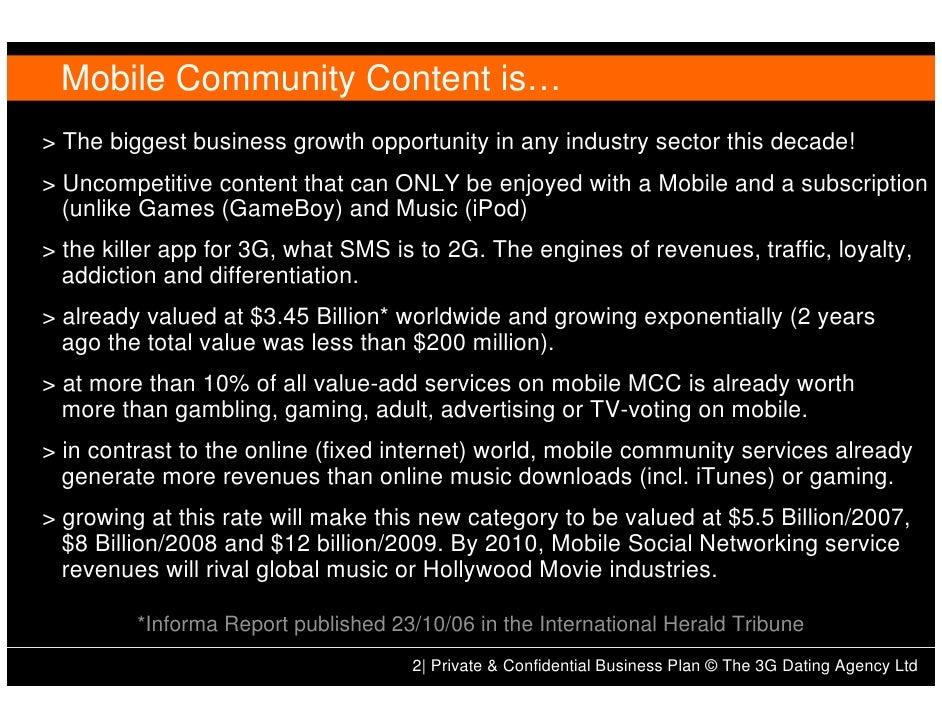 3g business plan