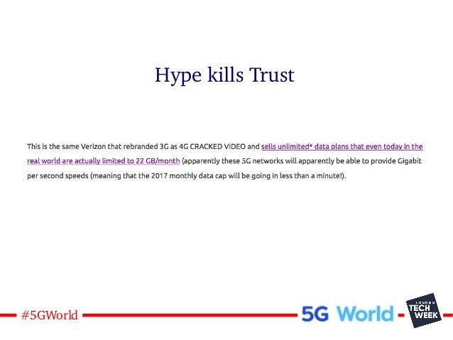 16#5GWorld Hype kills Trust
