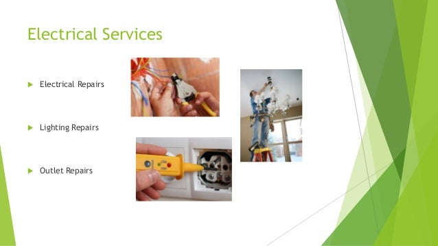 Electrical Services  Electrical Repairs  Lighting Repairs  Outlet Repairs