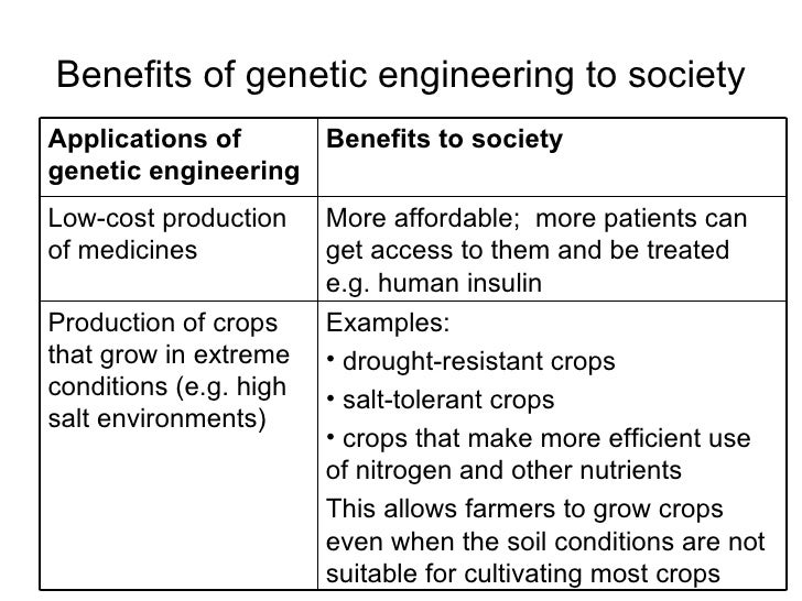 pros and cons of genetic engineering The many benefits and risks of genetic engineering can be confusing to the average person we break down the good, the bad, and the ugly in this article.