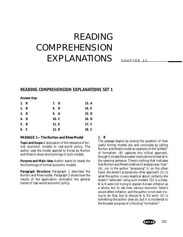 3 Gmat Reading Comprehension Practice Sets 18 Questions Each