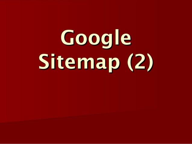 GoogleSitemap (2)