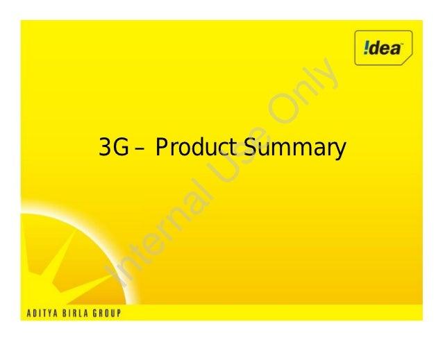 y             nl            O3G – Product Summary        se       U     al   rn  teIn