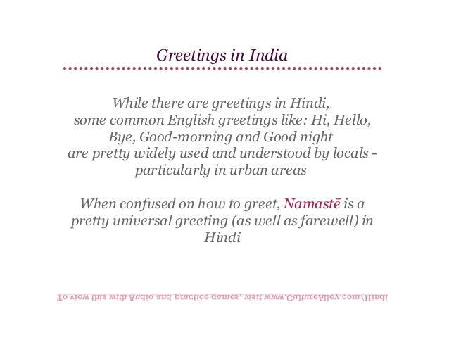 Basic hindi lesson 3 greetings greetings m4hsunfo