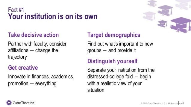 3 hard facts shaping higher education thinking and behavior Slide 2