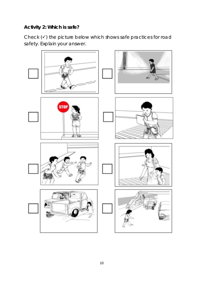Printables Pedestrian Safety Worksheets 3 health lm q4 10