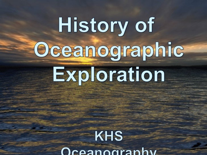 """OCEANOGRAPHY-Study of the OceansContributions of the """"ancients""""1. Phoenicians (from what is now Syria    and Lebanon) navi..."""