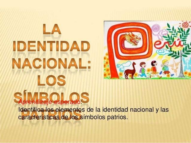 identidad nacional Slide 3