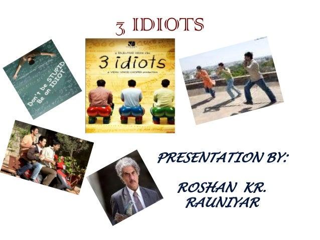 3 idiots critical analysis