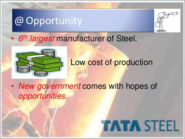 tata steel pest analysis Timetric's tata steel limited (tatasteel) : company profile and swot analysis contains in depth information and data about the company and its operations the profile contains a company overview, key facts, major products and services, swot ana.