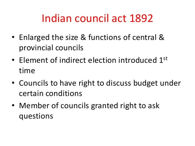 INDIAN COUNCIL ACT 1892 PDF DOWNLOAD